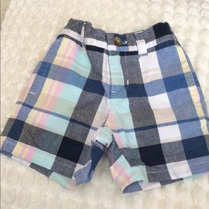 Janie and jack 3 month plaid shorts